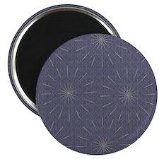 Blue Sparkle Fireworks Pattern Magnets