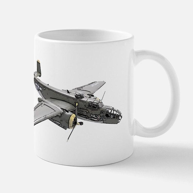 B-25 Bomber Mug