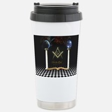 Between the Lines Stainless Steel Travel Mug