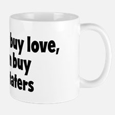meat and taters (money) Mug