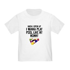 Pool Like My Mommy T-Shirt