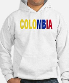 Colombia tricolor name Hoodie