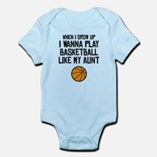 Basketball Like My Aunt Body Suit