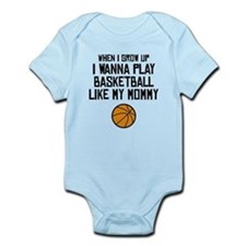 Basketball Like My Mommy Body Suit