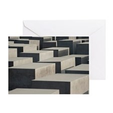 berlin memorial blocks Greeting Card