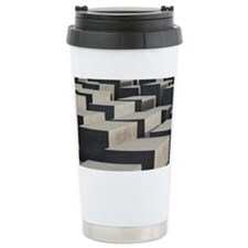 berlin memorial blocks Travel Mug