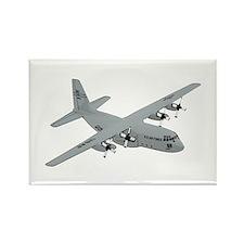 C-130 Rectangle Magnet