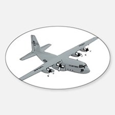 C-130 Sticker (Oval)