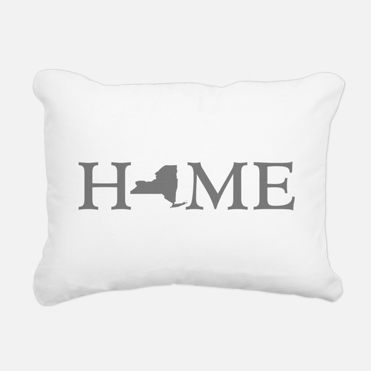 New York Home Rectangular Canvas Pillow