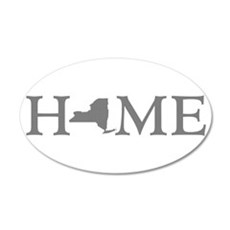 New York Home Wall Decal