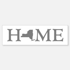 New York Home Bumper Bumper Sticker