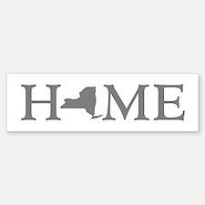New York Home Sticker (Bumper)