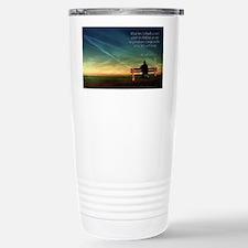 Self Motivation Stainless Steel Travel Mug