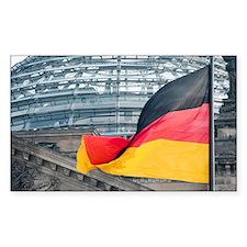 German flag or Bundesflagge Decal