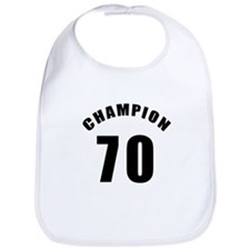 70 Champion Birthday Designs Bib