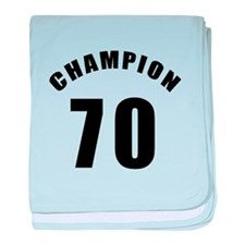70 Champion Birthday Designs baby blanket