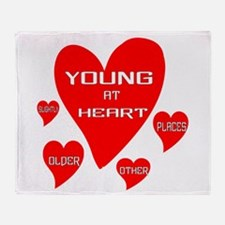 Young At Heart Throw Blanket