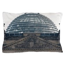 Glass dome of the Reichstag building Pillow Case