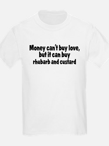 rhubarb and custard (money) T-Shirt