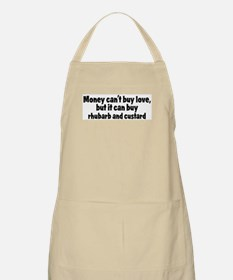rhubarb and custard (money) BBQ Apron