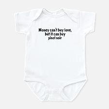pinot noir (money) Infant Bodysuit