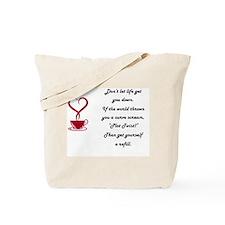Life's Plot twist Tote Bag