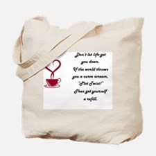 Life's Plot twist Tote Bag