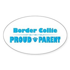 Collie Parent Oval Decal