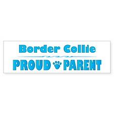 Collie Parent Bumper Car Sticker