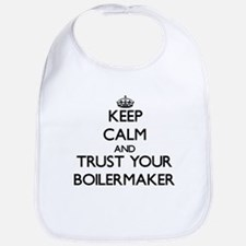 Keep Calm and Trust Your Boilermaker Bib