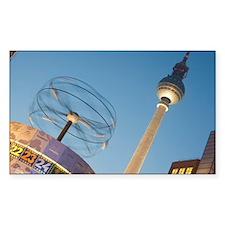 Alexanderplatz, Berlin Decal