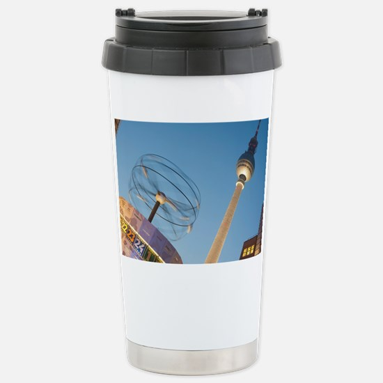 Alexanderplatz, Berlin Stainless Steel Travel Mug