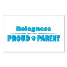 Bolognese Parent Rectangle Decal