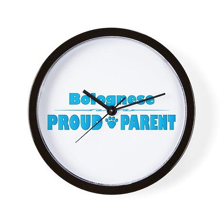 Bolognese Parent Wall Clock