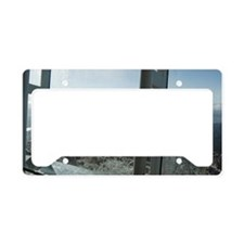frosty windows License Plate Holder