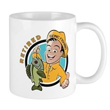 Retired - Gone Fishing Small Mug