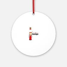 MOM POPS GARAGE Ornament (Round)