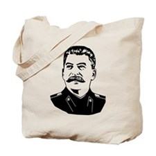 Stalin Propaganda Tote Bag