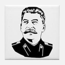 Stalin Propaganda Tile Coaster