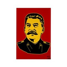Stalin Propaganda Rectangle Magnet