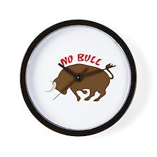 No Bull Wall Clock