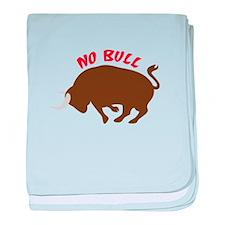 No Bull baby blanket