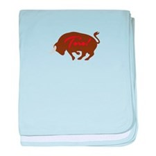 Toro baby blanket