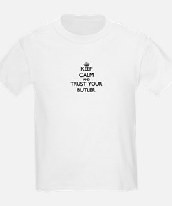 Keep Calm and Trust Your Butler T-Shirt
