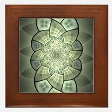 Stained Glass 1 Framed Tile