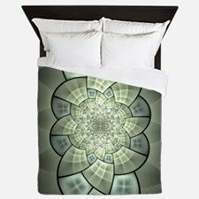 Stained Glass 1 Queen Duvet