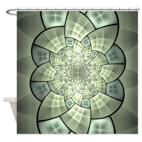 Stained Glass 1 Shower Curtain By