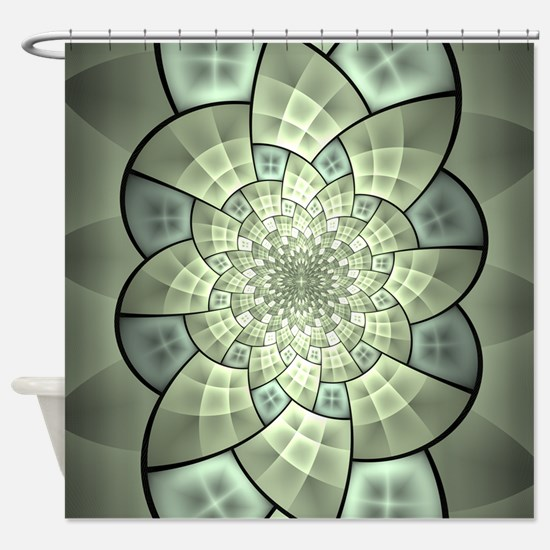Stained Glass 1 Shower Curtain