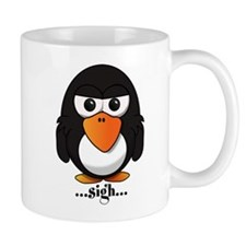 Annoyed Penguin Mugs