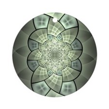 Stained Glass 1 Ornament (Round)